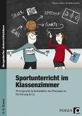 Sportunterricht im Klassenzimmer