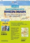 Radtourenkarte Rhein-Main