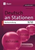 Deutsch an Stationen spezial Rechtschreibung 9-10