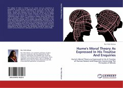 Hume's Moral Theory As Expressed In His Treatise And Enquiries