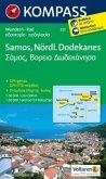 Kompass Karte Samos, Nördlicher Dodekanes