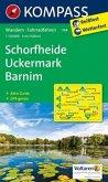 Kompass Karte Schorfheide, Uckermark, Barnim
