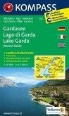 Kompass Karte Gardasee, Monte Baldo; Lago di Garda, Monte Baldo; Lake Garda, Monte Baldo