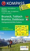 KOMPASS Wanderkarte Bruneck / Toblach / Hochpustertal - Brunico / Dobbiaco / Alta Pusteria