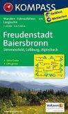 Kompass Karte Freudenstadt, Baiersbronn