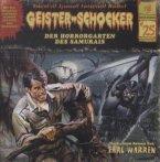 Der Horrorgarten des Samurais / Geister-Schocker Bd.25 (CD)