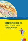 Haack Weltatlas Differenzierende Ausgabe. Arbeitsheft Kartenlesen mit Atlasführerschein Klasse 5