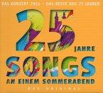 25 Jahre Songs an einem Sommerabend, 2 Audio-CDs