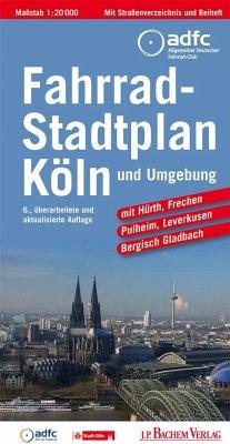 Fahrradstadtplan Köln und Umgebung