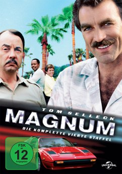 Magnum - Die komplette vierte Staffel DVD-Box - Tom Selleck,John Hillerman,Roger E.Mosley