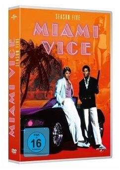 Miami Vice - Season 5 DVD-Box - Don Johnson,Philip Michael Thomas