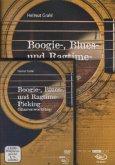 Boogie-, Blues- und Ragtime-Picking, m. DVD