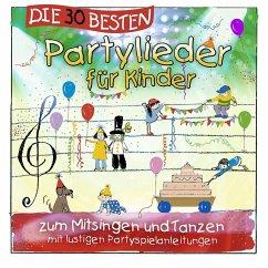 Die 30 besten Partylieder für Kinder, 1 Audio-CD - Sommerland, Simone; Glück, Karsten; Die Kita-Frösche