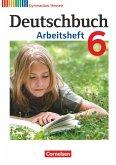 Deutschbuch 6. Schuljahr. Arbeitsheft mit Lösungen. Gymnasium Hessen