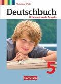 Deutschbuch 5. Schuljahr. Schülerbuch Differenzierende Ausgabe Rheinland-Pfalz