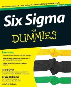 Six SIGMA for Dummies - Gygi; Gygi, Craig; Williams, Bruce