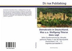Demokratie in Deutschland. Was u.a. Wolfgang Thierse dazu sagt