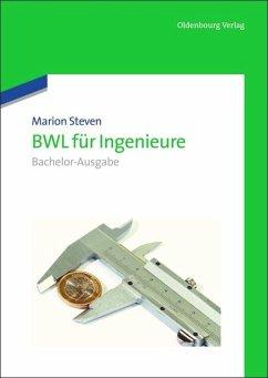 BWL für Ingenieure - Steven, Marion