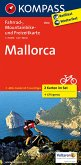 Kompass Fahrradkarte Mallorca, 2 Bl. / Kompass Fahrradkarten