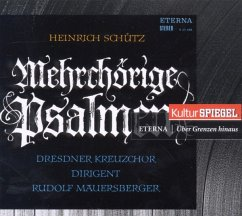 Mehrchörige Psalmen (Kulturspiegel-Edition) - Dresdner Kreuzchor/Mauersberger,Rudolf