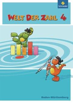 Welt der Zahl 4. Schülerband. Baden-Württemberg