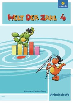 Welt der Zahl 4. Arbeitsheft. Baden-Württemberg