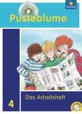 Pusteblume. Das Sachbuch 4. Arbeitsheft 4 mit CD-ROM. Niedersachsen