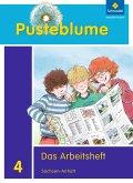 Pusteblume. Das Sachbuch 4. Arbeitsheft. Sachsen-Anhalt