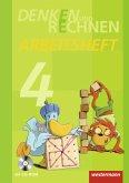 Denken und Rechnen 4. Arbeitsheft mit CD-ROM. Grundschule. Hamburg, Bremen, Hessen, Niedersachsen, Nordrhein-Westfalen, Rheinland-Pfalz, Saarland und Schleswig-Holstein
