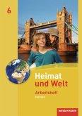 Heimat und Welt 6. Arbeitsheft. Sachsen