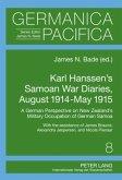 Karl Hanssen's Samoan War Diaries, August 1914-May 1915