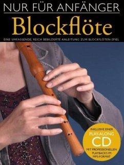 Nur Für Anfänger, Blockflöte, m. MP3-CD