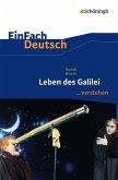 Leben des Galilei. EinFach Deutsch ...verstehen