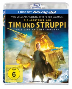 Die Abenteuer von Tim und Struppi - Das Geheimnis der Einhorn - 2 Disc Bluray