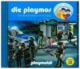 Den Bankräubern auf der Spur / Die Playmos Bd.28 (1 Audio-CD)