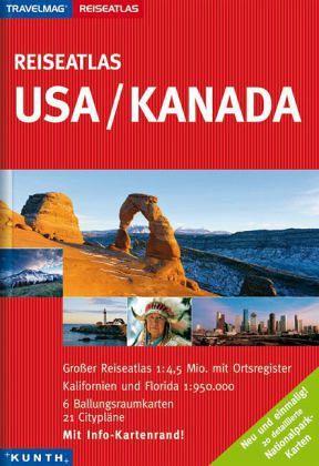 Reiseatlas USA, Kanada