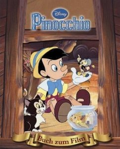 Pinoccio, Das Buch zum Film mit magischem 3D-Cover