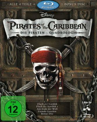 Pirates of the Caribbean - Die Piraten-Quadrologie (5 Discs)