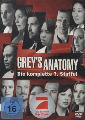 Grey's Anatomy: Die jungen Ärzte - Die komplette 7. Staffel (6 Discs)