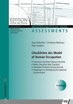 Checklisten des Model of Human Occupation - Kielhofner, Gary; Mentrup, Christiane; Langlotz, Anja