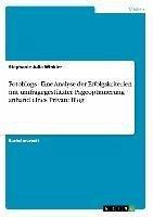 Fotoblogs - Eine Analyse der Erfolgskriterien mit umfragegestützter Pageoptimierung anhand eines Private Blog - Winkler, Stephanie Julia