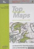TopMaps Baden-Württemberg 1 : 25.000 2012, DVD-ROM