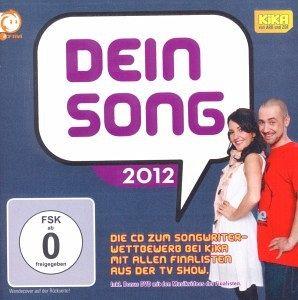 Dein Song 2012, 1 Audio-CD + DVD - Diverse