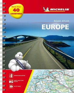 Michelin Straßenatlas Europa mit Spiralbindung; Michelin Atlas routier Europe