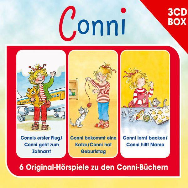 Conni - 3-Cd Hörspielbox Vol. 4 - Conni