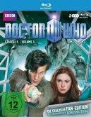 Doctor Who - Staffel 5, Volume 1 (Fan-Edition, 3 Discs)