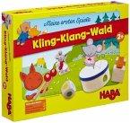 HABA 4665 - Meine ersten Spiel, Kling-Klang-Wald, Memospiel, Auditivspiel