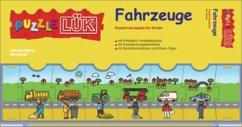 PuzzleLÜK Fahrzeuge / Verkehr: Puzzle-Lernspiele