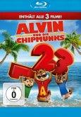 Alvin und die Chipmunks - Teil 1-3 (3 Discs)