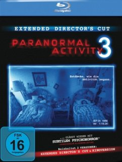 Paranormal Activity 3 Extended Director's Cut